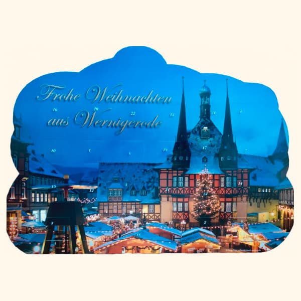 Wernigeröder Adventskalender (blau)