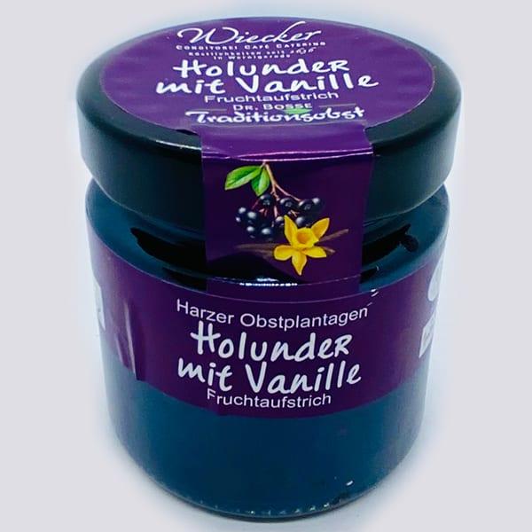 Fruchtaufstrich Holunder mit Vanille