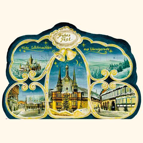 Wernigeröder Adventskalender (weiß)